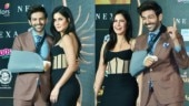 Kartik Aaryan attends an event with Katrina Kaif hours after undergoing surgery. See pics