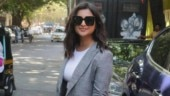 Parineeti Chopra in grey suit does power fashion in most casual way at event. See pics