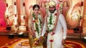 Inside Nikhil Kumaraswamy and Revathi's wedding during lockdown. See pics