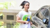 Kareena Kapoor goes for a run outside her building in Mumbai. See pics