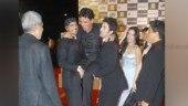 Flashback Friday: When Ranbir Kapoor and Arjun Rampal lifted Manoj Bajpayee at Rajneeti premiere