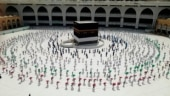 Hajj 2020: Pilgrims arrive at Mecca, maintain social distancing   World in pictures