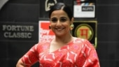 Shakuntala Devi: Vidya Balan spotted in the city ahead of her film's release
