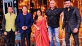 Dipika Chikhlia, Arun Govil, Sunil Lahri and Puneet Issar shoot for Sa Re Ga Ma Pa Li'l Champs