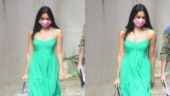 Kiara Advani steps out in spaghetti strap maxi dress and face mask. See pics
