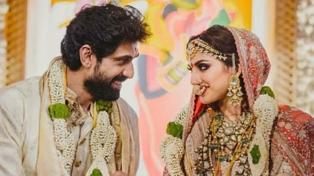 Rana Daggubati marries Miheeka Bajaj.