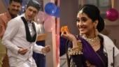 Shivangi Joshi, Mohsin Khan recreate Madhuri Dixit and Salman Khan's Didi Tera Devar Deewana. See pics