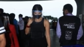 Jacqueline Fernandez opts for an all-black comfy look at airport. See pics