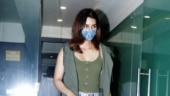 Kriti Sanon adds a hint of street style to her chic outfit. See pics