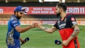 IPL 2020, Match 10 Photos: RCB overcome Pollard-Kishan heroics to beat MI in Super Over