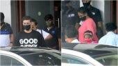 Karan Johar returns from Goa with his mom and twins, Yash and Roohi. See pics