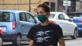 Malaika Arora gives comfy clothing goals in crop top and pyjamas on day out. See pics