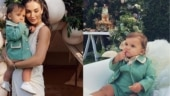 Amy Jackson shares unseen pics from son Andreas's 1-year birthday bash