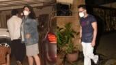 Mom-to-be Kareena Kapoor steps out with husband Saif Ali Khan and son Taimur. See pics
