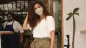Nimrat Kaur keeps it effortless in chic top and pants for outing. See photos