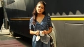 Sara Ali Khan is simply pretty in indigo blue dress on day out in Mumbai. See pics