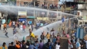 'Uttarkanya Abhijan': Teargas fired, water cannons used as BJP workers protest against Bengal govt | IN PICS