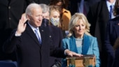 In pictures: Joe Biden, Kamala Harris take charge of the US