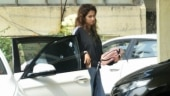 Disha Patani in Rs 2799 track top and flared pants makes casuals look fashionable