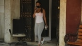 Malaika Arora wears Rs 233 face mask with tank top and tights at gym