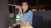 Samantha in midi dress and denim jacket with Rs 2 lakh bag looks like a ray of sunshine