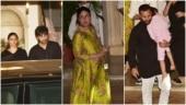 Alia Bhatt-Ranbir Kapoor, Kareena-Saif Ali Khan attend Randhir Kapoor's 74th birthday bash. See pics