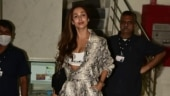 Malaika Arora shows you how to style animal print jumpsuit with yellow heels