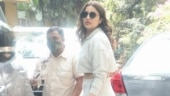 Parineeti Chopra in cropped jacket and pants is all for comfort on day out. See pics