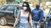 Shraddha Kapoor rocks the casual look in tee and distressed denims on day out