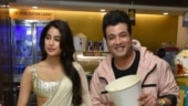 Janhvi Kapoor and Varun Sharma promote Roohi in Delhi. See pics