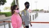 Shahid Kapoor and Mira Rajput leave for Punjab. See pics