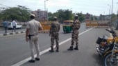 Life comes to halt as weekend curfew begins across Delhi | In Photos