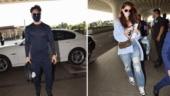 Tiger Shroff and Disha Patani photographed at the airport. See pics
