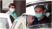 Helen and Sohail Khan arrive at Salman Khan's home for Eid celebration