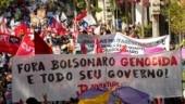 Protests erupt against president Bolsonaro as Brazil surpasses 500k Covid deaths | In Pics