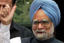 UPA GOVT WINS TRUST VOTE