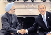 India, US sign 123 Agreement