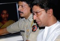 Raj held; granted bail; violence in Maharashtra