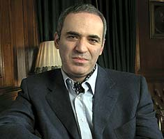 Take on change with courage: Kasparov