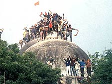 Red alert in UP on 17th anniversary of Babri