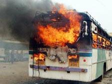 Telangana: Protests hit life in Andhra