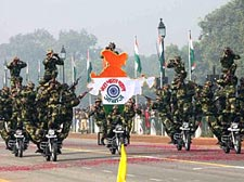 India celebrates 61st Republic Day