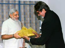 Guj: Big B told to explain stand