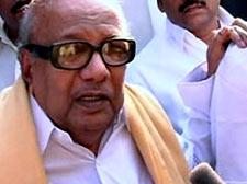 Karunanidhi rules out Raja