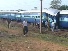 Blast derails train in WB, 65 dead