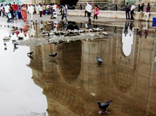 Rains bring Mumbai to a halt
