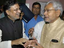 BJP cancels tour with Nitish