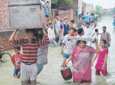 Delhi flood alert | Map