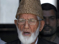Work at night, protest during day: Geelani