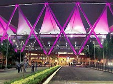 Stage set for CWG opening ceremony